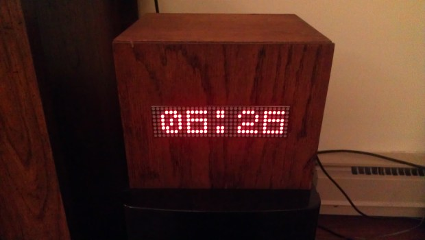 I have built a scrolling marquee LED matrix all enclosed in a custom oak box. The matrix is driven by a Raspberry Pi. The project is coded entirely in Python. It currently is set to pull from ESPN's API every 15 minutes and display the current news ticker (filtered for Cincinnati Bearcats). Also been used as a clock.I also have it setup to be used in my wedding this summer. Guests will scan their table cards (via bar-code scanner) and the Pi will display the appropriate table number.  Project Link