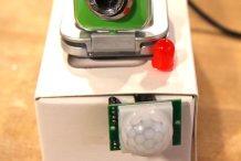 Arduino Yún Motion-Trigger Trespasser Camera