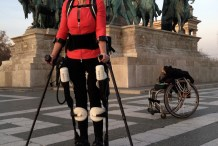 Walking Again in a Personalized Exoskeletal Robot