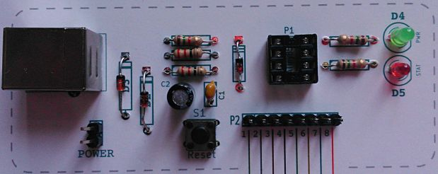 Paperduino Tiny (Front)