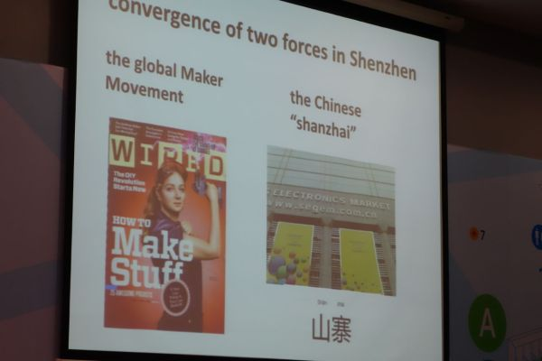 "Lyn Jeffrey looked at the Maker Movement and ""Shanzai"" in Shenzhen."