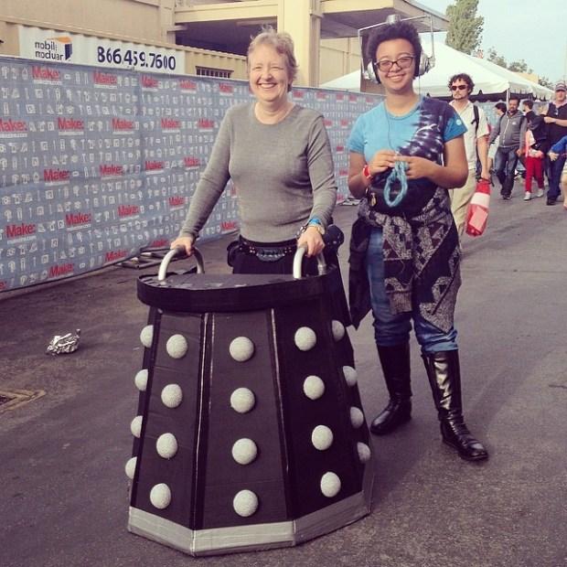 Dalek walker