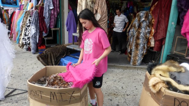 Fur shopping in L.A.