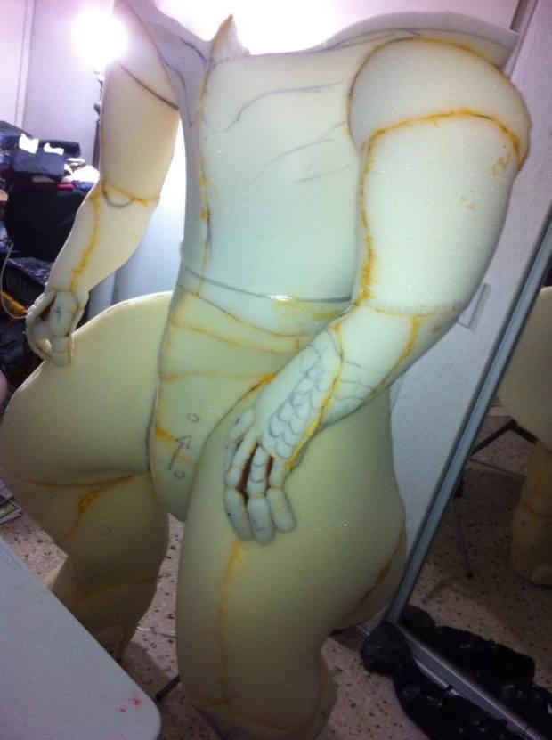 torso taking shape