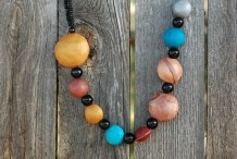 How-To: Solar System Necklace