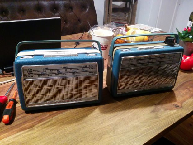 Two old Radios found on eBay. Used the best parts of both for this project.