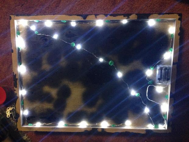 Showcase of the Amazon LEDs. Pretty bright.