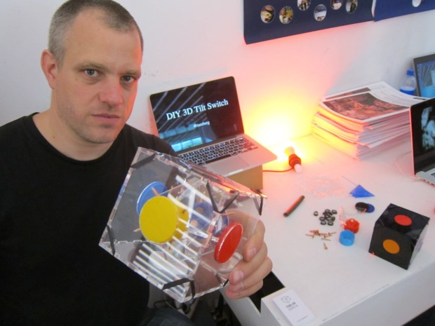 Really cool magic cube switch by Thomas Amberg @tamberg http://bit.ly/1pYX9XT