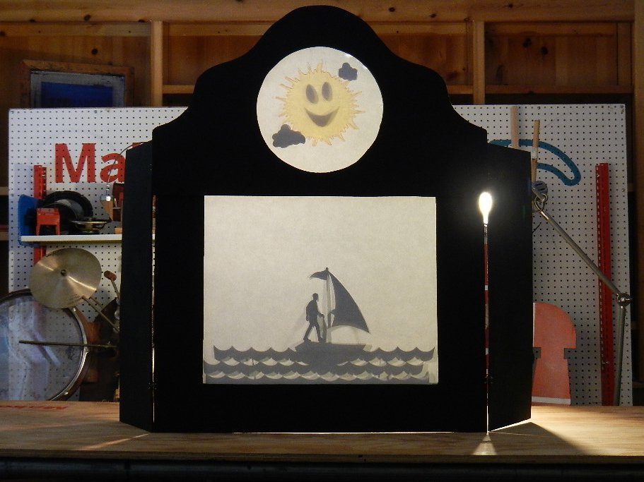 Light Eindhoven Shadow Puppet Theater | Make: