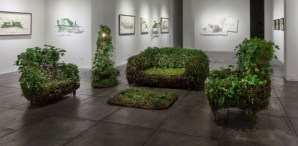 """Living Room"" Furniture Made From Live Plants"