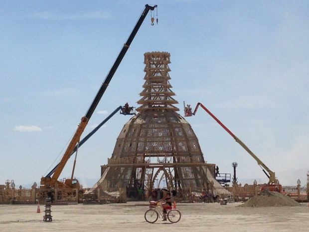 The 2014 Burning Man temple, this year by David Best