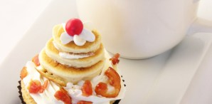 Pancake and Bacon Cupcakes Recipe