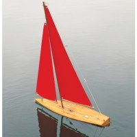 M20 wooden mini yacht