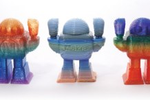 Rainbow Extrusion: Coloring 3D Printer Filament