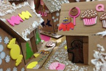 Gingerboard Houses (by Kids)