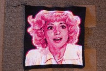 A Crocheted Portrait of Frenchy