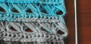 How-To: Crocheted Broomstick Lace Cowl