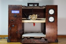 Jules Verne Needed This Gorgeous Steampunk 3D Printer