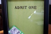 How-To: Ticket Stub Memories Display