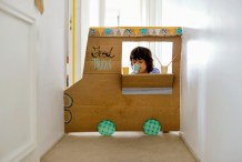 Cardboard Chuckwagon: DIY Food Truck For Kids