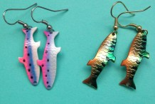 Snag Compliments With These DIY Fishing Lure Earrings