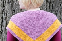 Knit It: Outlander-Inspired Chevron Shawl