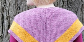 Knit It: Outlander-Inspired Chevron Shawl