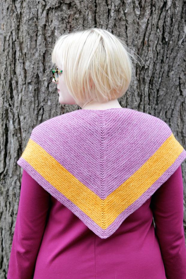 Knitting Pattern For Outlander Shawl : Knit It: Outlander-Inspired Chevron Shawl Make: