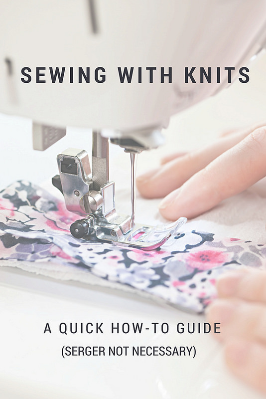 Kansas City Home Builders Stitch It: Sewing Knits With Or Without A Serger | Make: