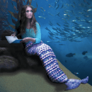 Crochet a Mermaid Lap-ghan