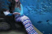Crochet a Wearable Afghan Mermaid Tail