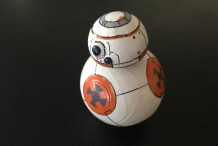 Photo of Sphero modified as Star Wars BB-8 Droid.