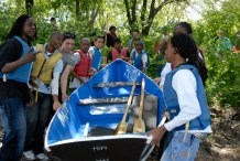 Boat-Building Teens Get Hands-On Teamwork, Engineering Lessons
