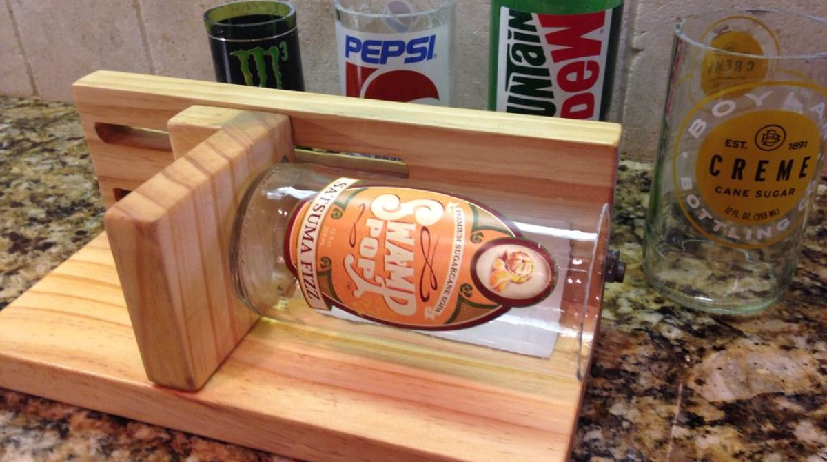 Build An Adjustable Bottle Cutter For 30 Second Clean Cuts