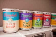 Playing with Pop Art: Warhol Soup Cans for Kids