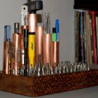 Copper Tube Mini-Tool Organizer