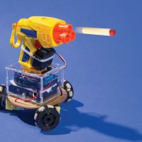 The R/C Kiwibot from Make: issue 40 uses an omniwheel motor system.
