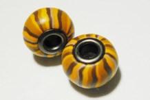 DIY Pandora Style Polymer Clay Beads