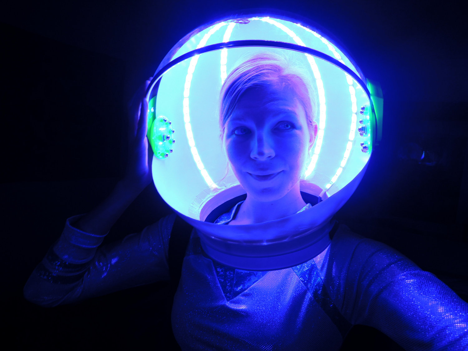 Led Light Fun Make Your Own Astronaut Helmet Pics About Space
