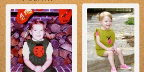 Flashback CRAFT Pattern: My Fair Ladybug, by Vickie Howell