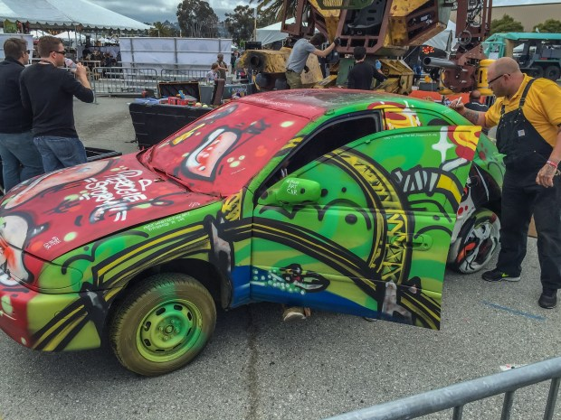 The Pittsburgh Art Car by Jason Sauers