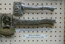 George Washington Inauguration Hatchet and Other Rarities at Antique Tool Museum