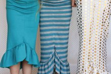 Quick Sew: 30 Minute Mermaid Tail Skirt