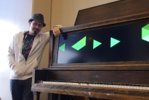 Jamming on a Modern Day Player Piano