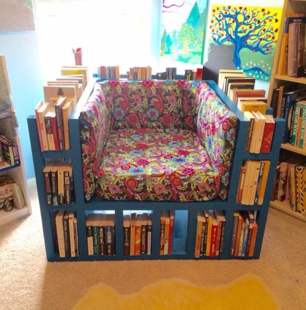 Bookshelf chair 620x627