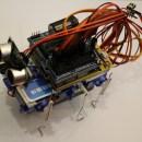 Adorable Robot Built Around a Credit Card Body