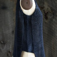 Summer Knits: Notched Hem Tank Top