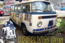This Is the R2-D2 VW Bus You're Looking for