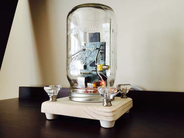 Preserve Data in a Mason Jar
