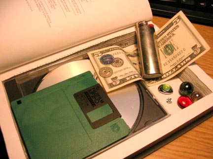 How To Make a Hollow Book via How To Do Stuff